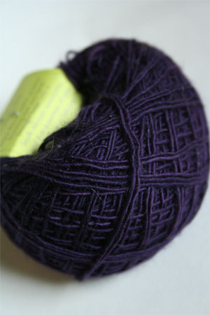 Be Sweet Skinny Yarn from Be Sweet Products 100% Skinny Knitting Yarn in Dark Blue Plum