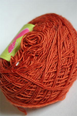 Be Sweet Skinny Yarn from Be Sweet Products 100% Skinny Knitting Yarn in Rust