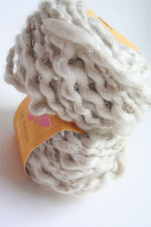 Be Sweet Slubby Mohair Yarn in Natural