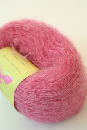 Be Sweet Extra Fine Mohair Boucle Yarn - Bright Pink