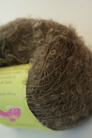 Be Sweet Extra Fine Mohair Boucle Yarn - Dark Camel