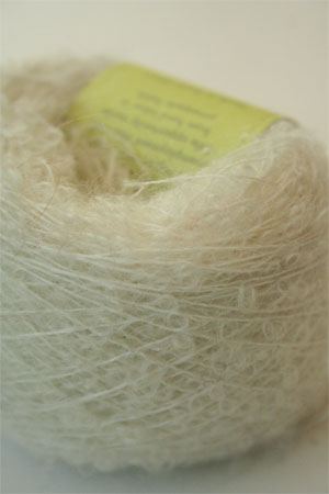 Be Sweet Extra Fine Mohair Boucle Yarn - Natural