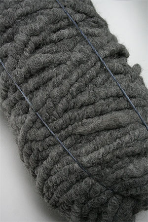 Big Stitch Bump Alpaca Yarn in Grey