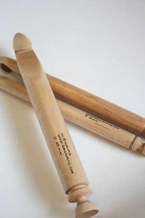 Bagsmith Maple Handmade Maple Crochet Hooks