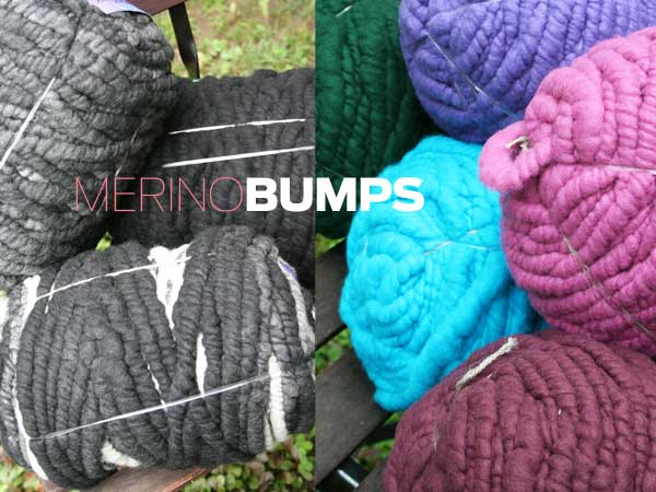 Big Stitch Knitting Patterns : Super Bulky Merino Yarn Bumps from Big Stitch - Bagsmith at Fabulous Yarn