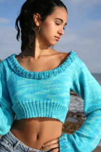Jade Sapphire cashmere great sweater for experts.