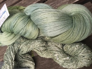 Artyarns Merino Cloud in the original 2234 - Pale Jade