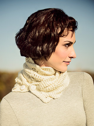 North Hollow Cowl Knitting Kit & Pattern for EXTRA! yarn by Blue Sky Alpacas