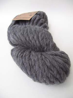 Blue Sky Alpacas Bulky Natural Alpaca Wool yarn in Gray Wolf 1007