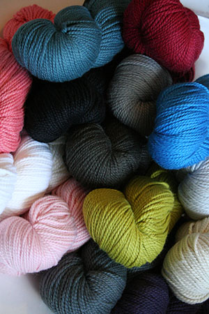 Extra yarn from Blue Sky Alpacas