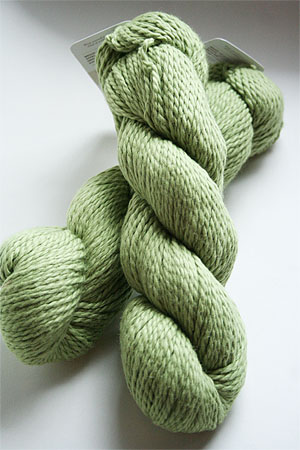 Blue Sky Dyed Organic Cotton in Wasabi