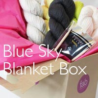 Organic Cotton Blanket Gift Box