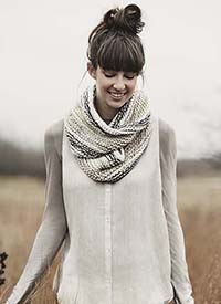 Blue Sky Kit - Caledonia Cowl
