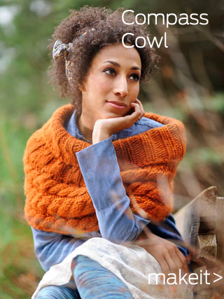 CompassCowl 320x427makeit Alpaca Knitting Patterns