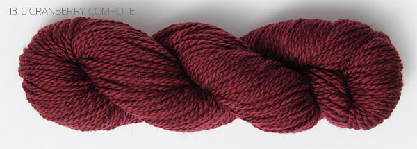 Blue Sky Fibers Woolstock Yarn Craberry Compote (1310)