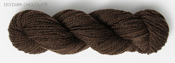 Blue Sky Fibers Woolstock Yarn Dark Chocolate (1313)