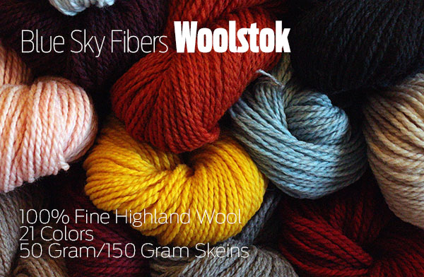 Blue Sky Fibers Woolstock Yarn