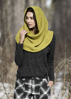 Trimont Snood Knitkit For Woolstock Yarn From Blue Sky Fibers