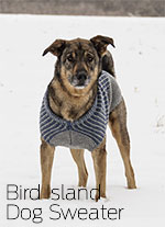 Bird Island Dog Sweater - Blue Sky Fibers WOOLSTOK