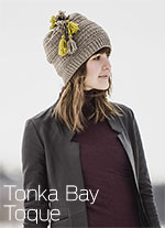Tonka Bay Toque - Blue Sky Fibers WOOLSTOK