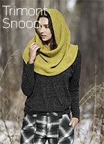 Trimont Snood - Blue Sky Fibers WOOLSTOK