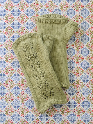 Blue Sky Royal Alpaca Pattern KIT:  Countess Mitts
