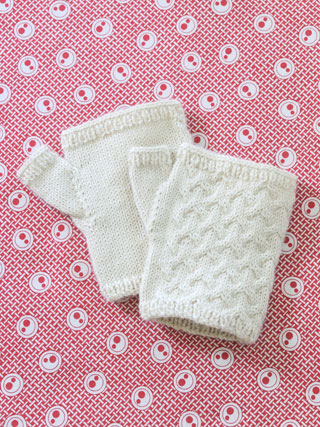 Blue Sky Royal Alpaca Pattern KIT:  Mitini  Mitts