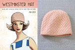 mini pattern westminster hat