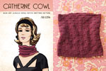 mini pattern catherine cowl