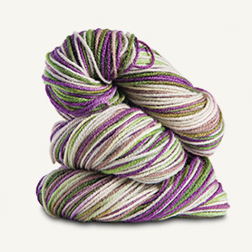 Spud and Chloe Fine Sock Yarn 7864 Grape Freeze