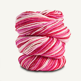 Spud and Chloe Fine Sock Yarn 7866 Cherry Sundae