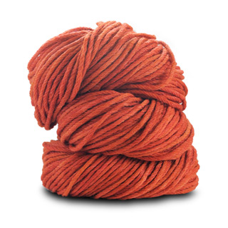 BLUE SKY WORSTED HAND DYE ALPACA/MERINO 2010 Rusty Orange