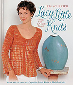 artyarns iris schreier's Lacy Little Knits book