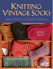 knitting vintage socks book