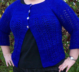 Ravelry Ladies Sweater Pattern winner from Ravelry