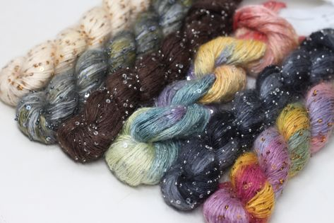 30% Off select colors of Artyarns Beaded Silk & Sequins Light