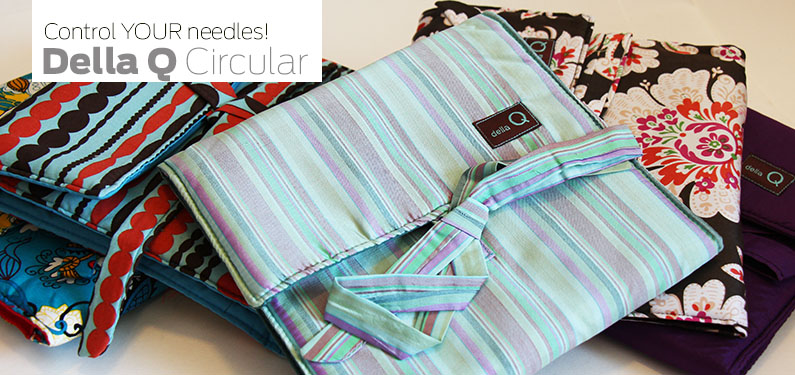 The Que Circular Needle Case By Della Q Knitting Cases And Organizers