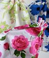 Della Q Cotton Print Project Bags