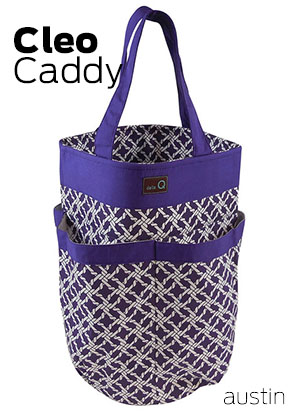 Cleo Knitting Caddy by Della Q