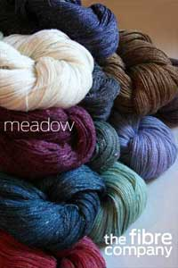 the fibre company MEADOW lace yarn