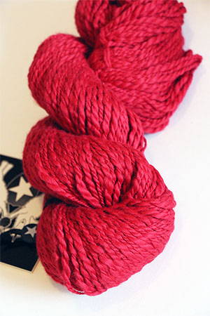 Inca Eco Organic Cotton in 637 RED HOT Joseph Galler at Fabulous Yarn