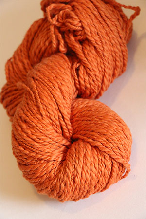 Inca Eco Organic Cotton in 636 PUMPKIN Joseph Galler at Fabulous Yarn