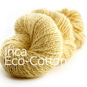 Inca Eco Organic Cotton from Joseph Galler at Fabulous Yarn