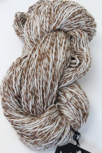 Alpaca Peruvian Tweed... in Chestnut White (PT105)