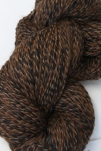 Galler Yarns Alpaca Peruvian Tweed in Brown/Black (PT107