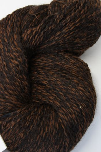 Galler Yarns Alpaca Peruvian Tweed | Chestnut/Black (PT119)
