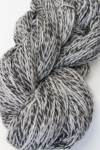 Galler Yarns Alpaca Peruvian Tweed | Silver/Black (PT125)