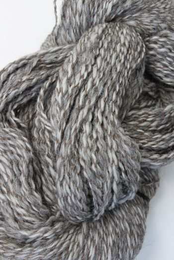 Galler Yarns Alpaca Peruvian Tweed | Pewter/Brown (PT136)