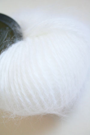 Belangor Pure French Angora in 801 White