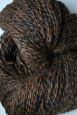 PT107 Chocolate Brown Twist Peruvian Twist Superfine Alpaca